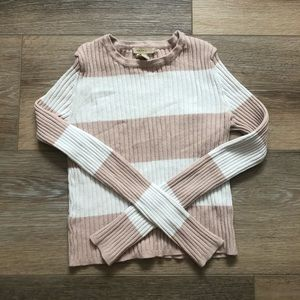Striped long sleeve shirt / forever 21 size small